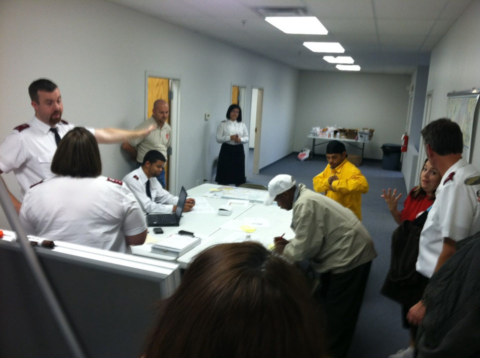 Day 1 & 2 of Emergency Disaster Service (EDS) Deployment - Wilks-Barre, PA (4/4)